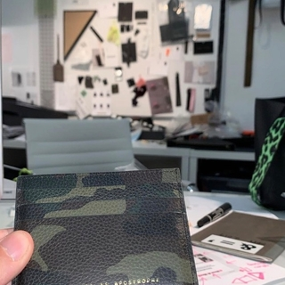 Card Wallet / GREEN CAMO