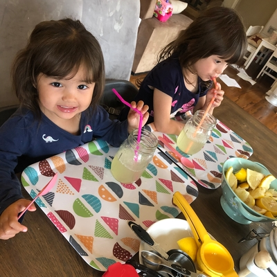 Sophia & Olivia loves our fizzy drink.