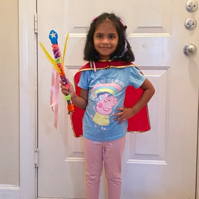 Shanaya's magic wand