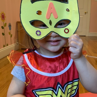 Super Averie in disguise!
