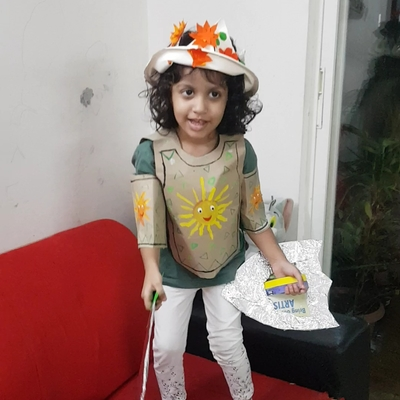 Ananya with full body armour2