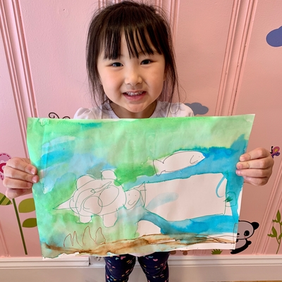 Averie's oceanscape picture!