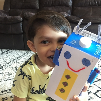 Reyansh loved his ROBOT 🤖 - Thanks Ms Kelsey