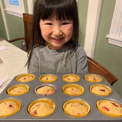 Banana Berry Muffins - Ages 3-6