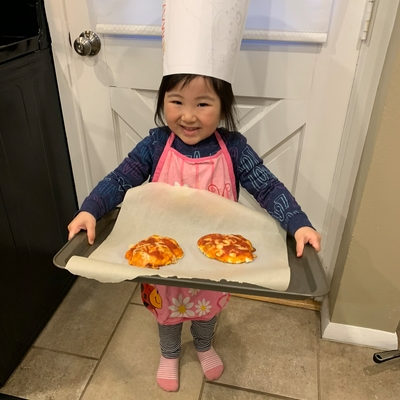 Making Mini Pizzas - Ages 3-6