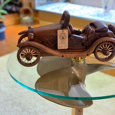 Wooden Car Puzzle--Hand Crafted