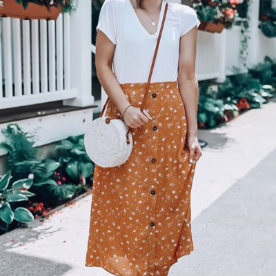 Honey Sweet Midi Skirt